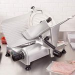 Globe Meat Slicer stainless steel/anodized aluminium construction